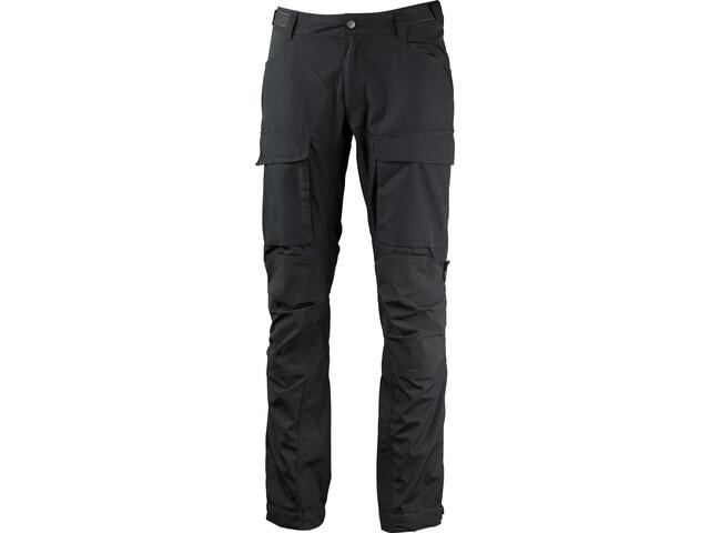 Lundhags Authentic II - Pantalones Hombre - Long gris